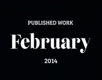 Published Work February