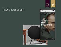 Bang & Olufsen Online Store (UI CONCEPT)