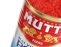MUTTI: 3D Packshot - Full Range of Products