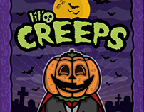Lil' Creeps Sticker Trading Cards
