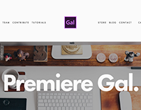 Premiere Gal Website