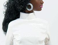 Barbie in White