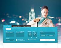 Korean Air Site Design