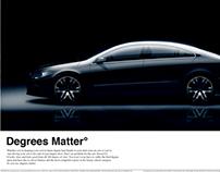 Volkswagen Passat CC Copywriting