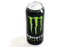 Vector Illustration | Monster Energy