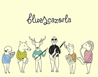 Bluescazorla/ Blues Festival Branding