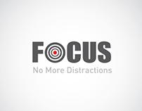 Focus: No More Distraction