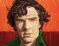 Benedict Cumberbatch Vincent van Gogh painting