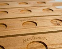 Jack Daniels Tasting Paddles