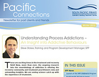 South Pacific Private - Newsletter Design