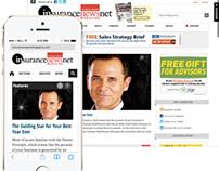Website for InsuranceNewsNet Magazine
