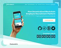 HireMatch Blockchain Employee Recruitment Platform