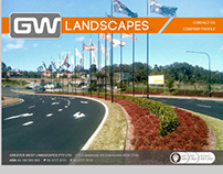 Greater West Landscapes - Static Website
