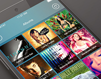 Android Music Player Application