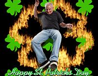 St. Patricks on Fire!