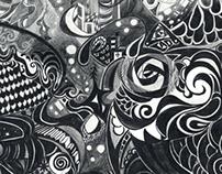 color pencil drawing - illustrator