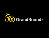 """""""GrandRoundz"""" Brand Identity+Website Design"""