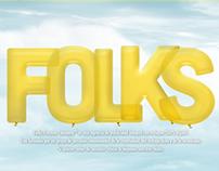 Folks Creative Company® Landing Page 2014