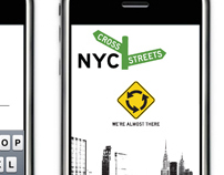 NYC CROSS STREETS VISUAL DESIGN