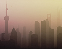 Morning Skylines - Shanghai