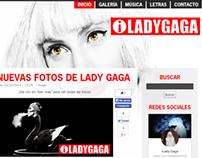 iLady Gaga Website 2014