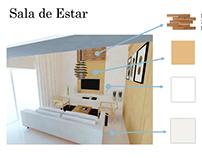 Projeto de interiores - Apartamento Residencial