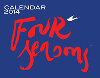 Calendar 2014 / Four seasons