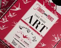 T-SHIRTS & PRINTS - TAKE AWAY ART