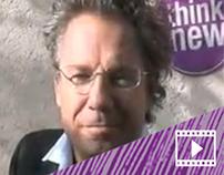 Christoph Santner spricht für die Kreationsgesellschaft
