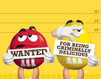 M&M's - Wanted Campaign