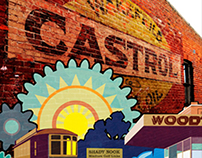 Woodthorpe Mural