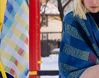 Snow and Playgrounds: Woven Blankets