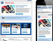 Auto Club Responsive Email Redesign (Sent 60MM in 2014)