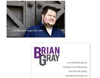 Branding | Comedian Brian Gray