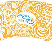 Neil's Cafe Branding