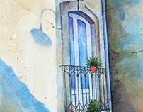 Sicilian Balcony