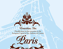 Paris Travel Invitation