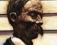 Clapboard Portrait: Thomas