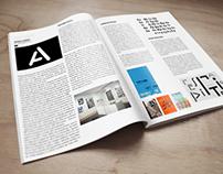 Mise en page du magazine Étapes