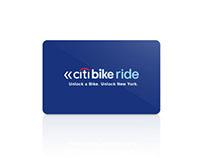 Citi Bike Ride: A redesign concept for Citi Bike