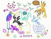 Cartel La Pedrera Primavera 2014