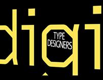 Typographers Wim Crowel and Luc De Groot