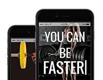 iPhones View - Fitness WordPress Theme