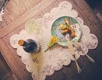 Poderi dal Nespoli - photo-styling wine rebranding