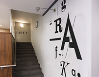 Signage and Wayfinding for Academy of Fine Arts