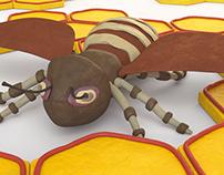 3D Clay Bee
