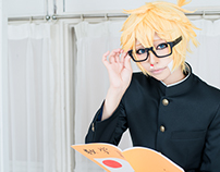cosplay * VOCALOID * 鏡音レン * +♂