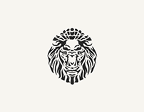 Lion Head Logo Mark