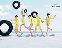 LaCoste - Digital/Print Art Direction/Compositing