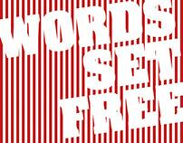 Words Set Free exhibition